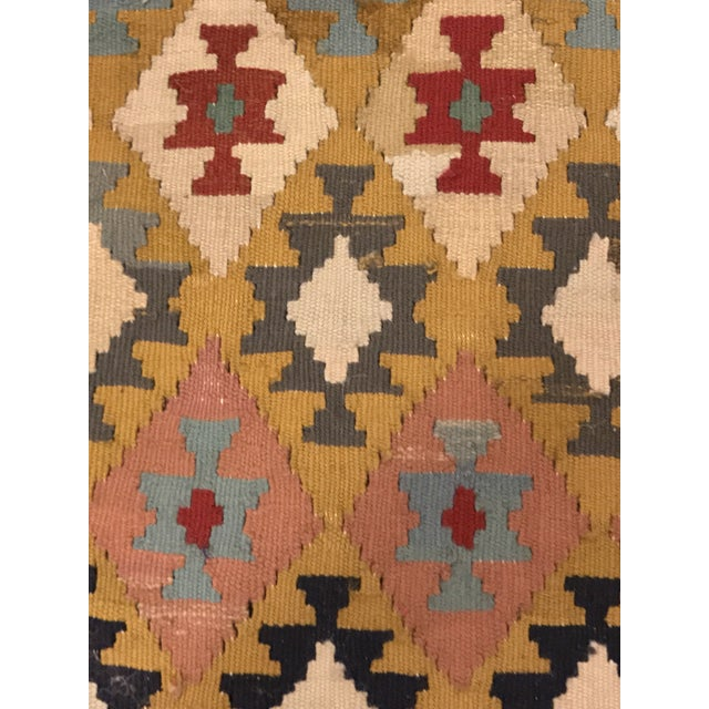 """Vintage Turkish Flat Weave Kilim Rug - 3'3"""" x 6'3"""" For Sale - Image 5 of 11"""