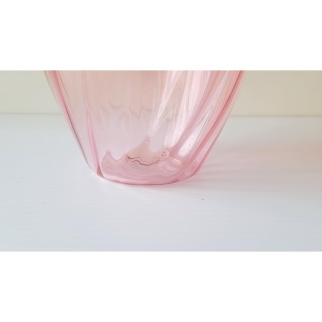 1987 Robbie Miller Blown Glass Vase for Traver Gallery Research For Sale - Image 9 of 13