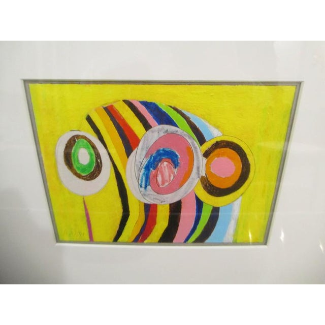 "Abstract Adam Dahlstrom ""Magic Mountain"" For Sale - Image 3 of 6"