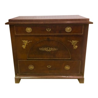 19th Century 3-Drawer French Empire Commode For Sale