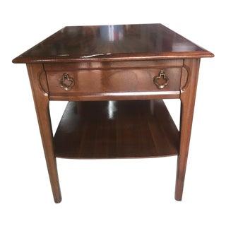 Mid-Century Modern Mersman Walnut End Table For Sale
