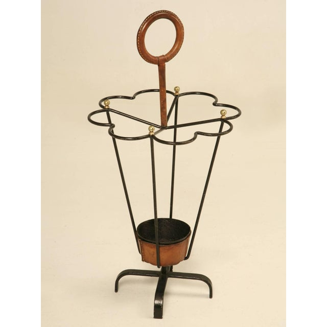 Jacques Adnet Umbrella Stand For Sale - Image 10 of 10