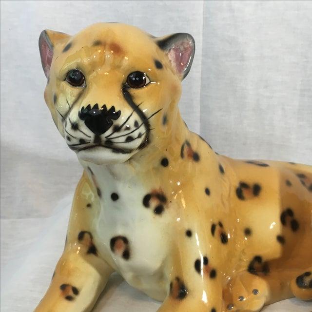 Ceramic Leopard Figurine - Image 3 of 6