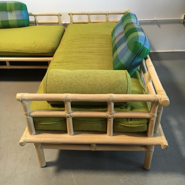 McGuire Rattan Daybed Set - Image 8 of 8