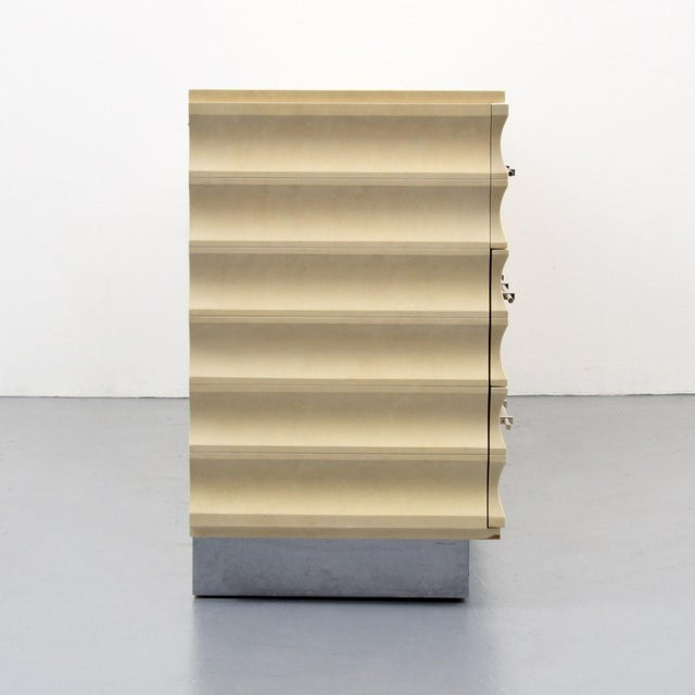 Mid 20th Century Modern Tommi Parzinger Lowboy Dresser For Sale - Image 5 of 11