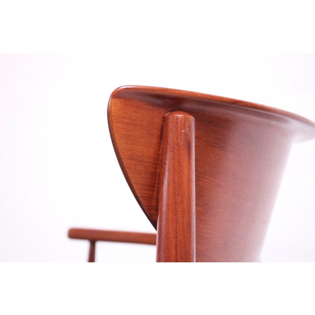 Teak Dining Chairs by Peter Hvidt and Orla Mølgaard Nielsen - Set of 8 For Sale - Image 12 of 13