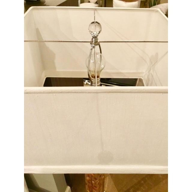 Modern Acrylic Floor Lamp For Sale In Atlanta - Image 6 of 7