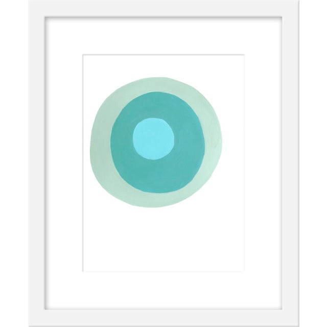 """Contemporary Small """"Saltwater"""" Print by Neicy Frey, 17"""" X 21"""" For Sale - Image 3 of 3"""