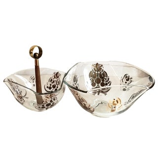 Georges Briard Serving Bowls - A Pair For Sale