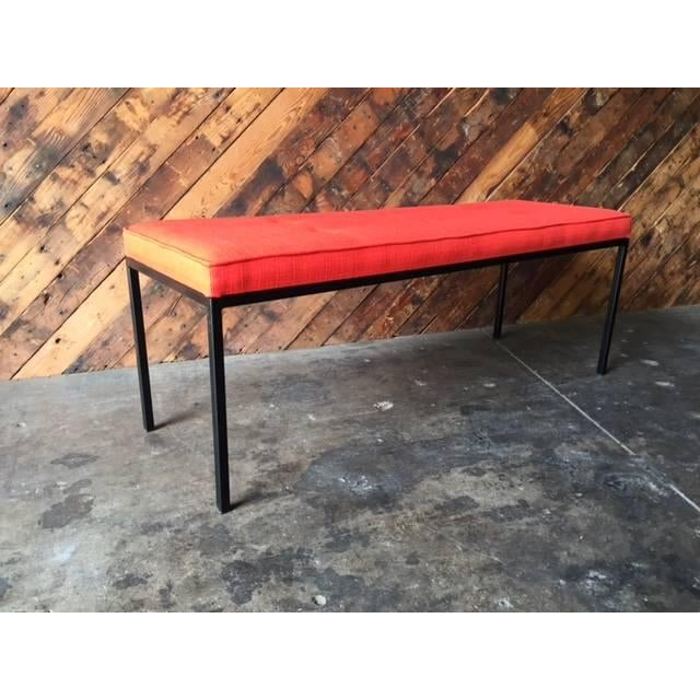 Custom Powder Coated Steel Bench - Image 6 of 7