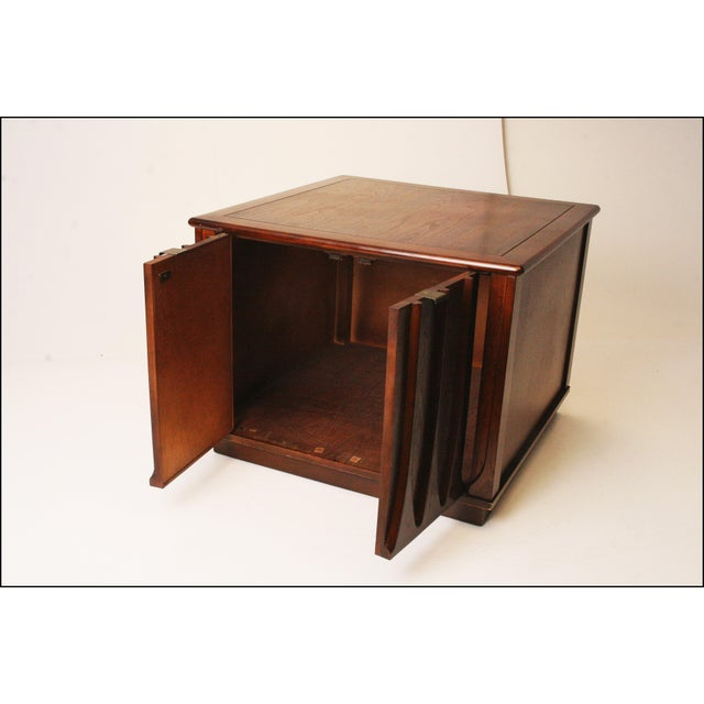 Harvey Probber Style Mid-Century Modern Square Side Table - Image 3 of 11