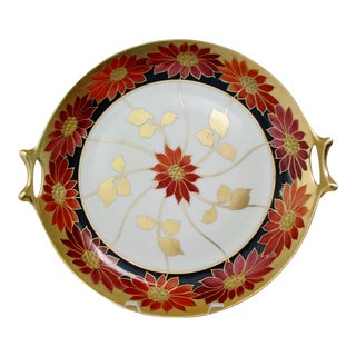 Antique Porcelain Serving Plate For Sale
