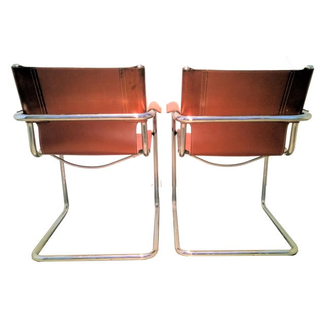 Matteo Grassi Vintage Matteo Grassi Italian Bauhaus Style Cantilever Chair  For Sale - Image 4 of 2bf8f7b79797c