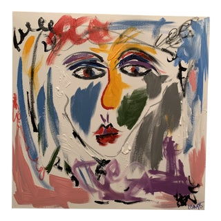 Ebony Boyd Contemporary Abstract Face Painting For Sale