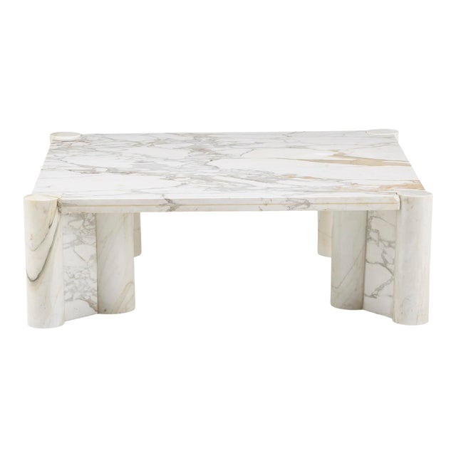 Gae Aulenti for Knoll Marble Coffee Table For Sale