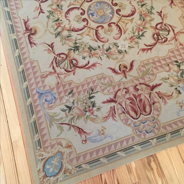 French Vintage French Tapestry For Sale - Image 3 of 9