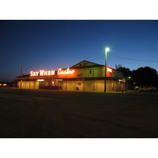 """2006 """"Roadside Night"""" Contemporary Photographic Color Print For Sale"""