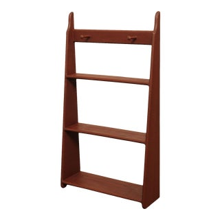 Country Style Three Tier Wall Shelf For Sale