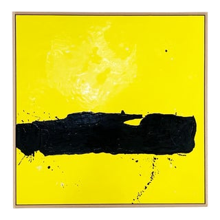 "John O'Hara. Tar, 8. 49x49"" Encaustic Painting For Sale"