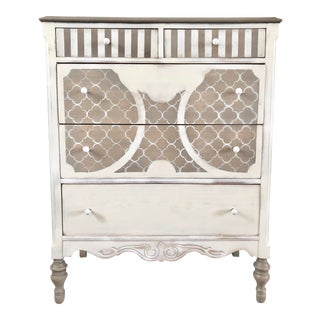 1940s Shabby Chic Standard Dresser For Sale