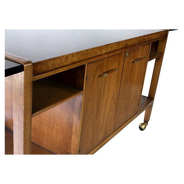 Mid-Century Modern Bar Cart or Serving Cart - Image 7 of 7
