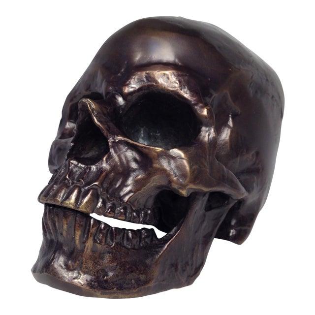Metal Skull Sculpture - Image 1 of 7