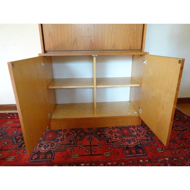 1970s Danish Modern Teak Secretary Desk For Sale In Saint Louis - Image 6 of 10