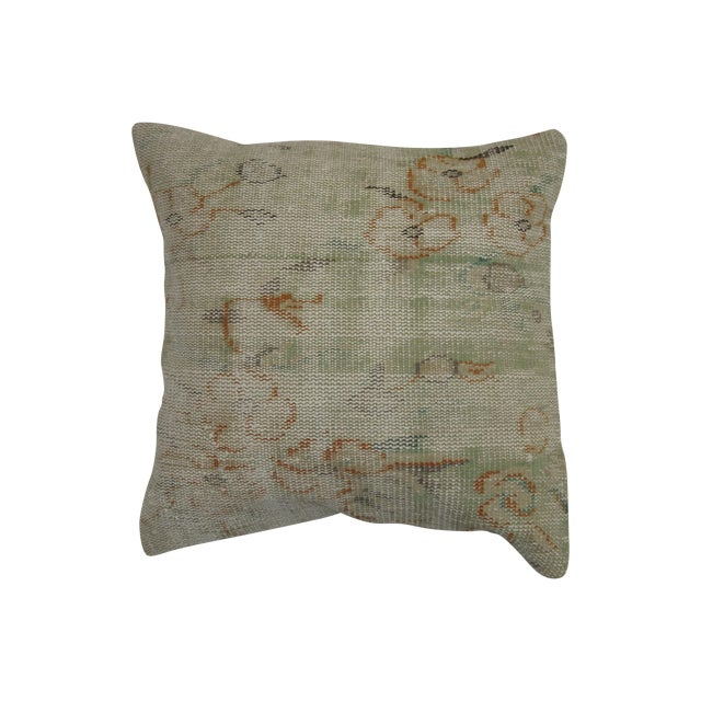 Worn Rug Pillow Cushion - Image 1 of 3
