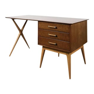 1960s Vintage Renzo Rutili for Johnson Furniture Partners Desk