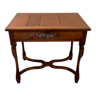 18th Century Louis XIII Walnut Writing Side Table For Sale