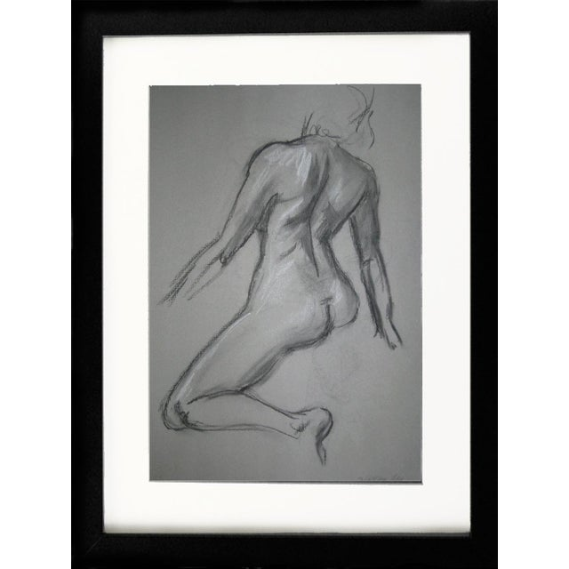 2010s Kathleen Ney Quick Sketch IV Drawing For Sale - Image 5 of 5