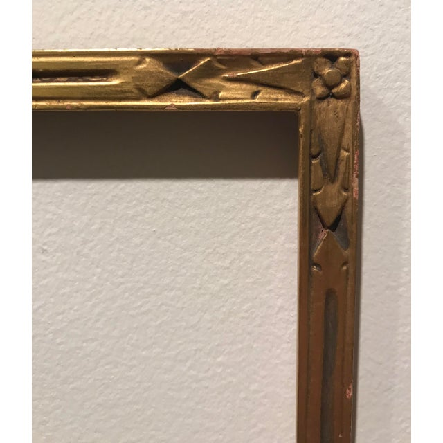 1910s Foster Bros Arts Crafts Gilt Picture Frame Chairish