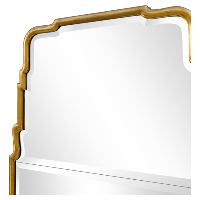Large Queen Anne Divided Plate Mirror For Sale - Image 9 of 12