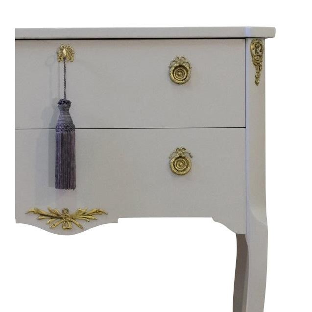 French Classic Gustavian Louis XV Style Chest For Sale - Image 3 of 4