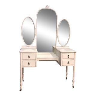 Antique White Distressed Vanity