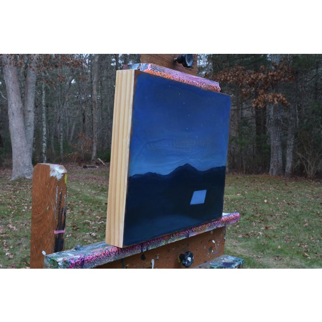 """2010s Stephen Remick """"Under the Big Dipper"""" Painting For Sale - Image 5 of 10"""