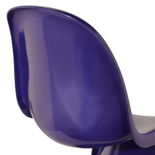 Plastic 1976 Verner Panton S-Chair in Purple For Sale - Image 7 of 10