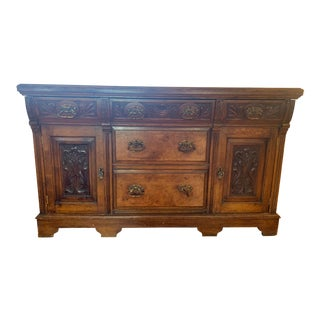 Early 19th Century Antique Walnut Sideboard For Sale