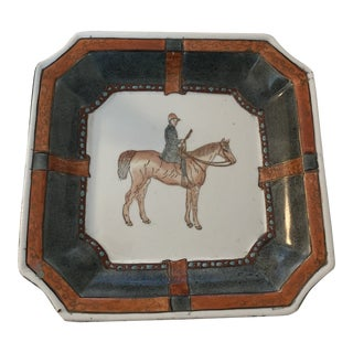 Equestrian Catchall Trinket Dish For Sale