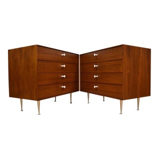 George Nelson for Herman Miller Thin Edge Chests - A Pair