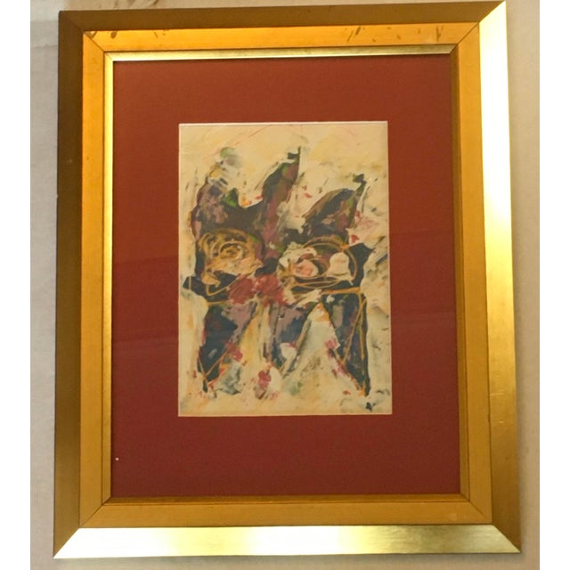 Wayne Cunningham Abstract Expressionist Painting For Sale In New York - Image 6 of 6