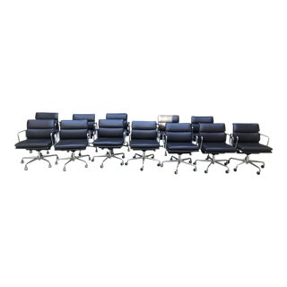 Eames Soft Pad Chairs - Set of 12