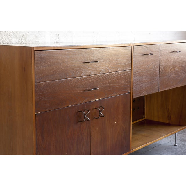 Wood 1970s Mid-Century Modern George Nelson for Herman Miller Credenza For Sale - Image 7 of 13