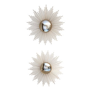 Starburst Mirrors - a Pair For Sale