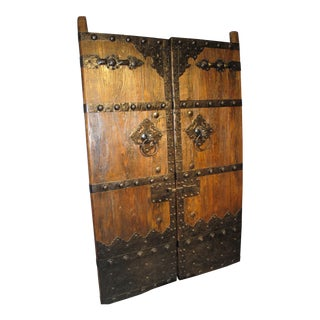 Chinese Antique Doors - A Pair For Sale