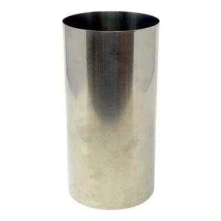 Arne Jacobsen Cylinda Vase for Lauffer/Stelton, Denmark For Sale