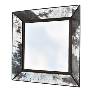 Vintage Square Framed Mirror