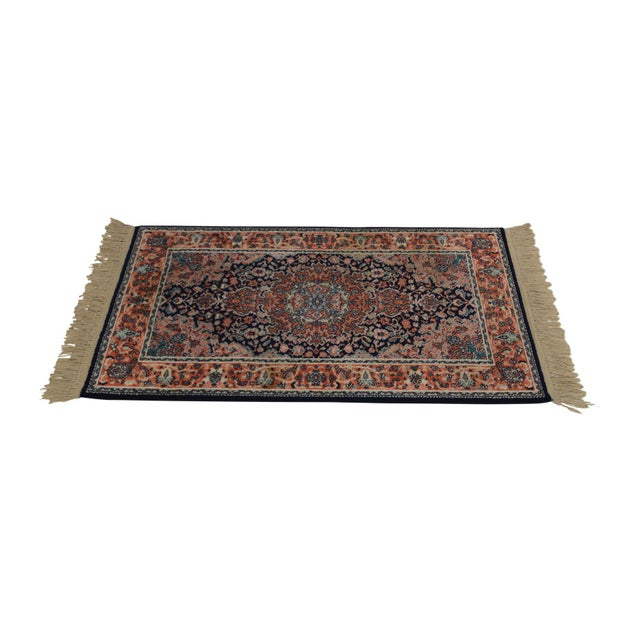 "Karastan Kashan Medallion 2'10"" X 5' Throw Rug #741 (A) For Sale - Image 13 of 13"