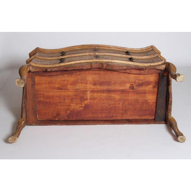 Mid 18th Century Italian Painted Two Drawer Commode For Sale - Image 12 of 13