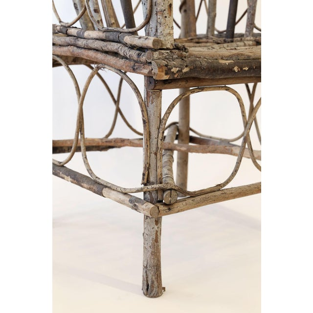 Late 19th Century Antique French Twig Chair For Sale - Image 5 of 13